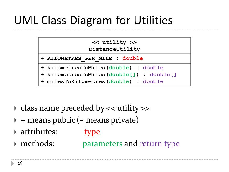 Puzzle 2 1 what does the following program print public class 26 uml class diagram ccuart Gallery
