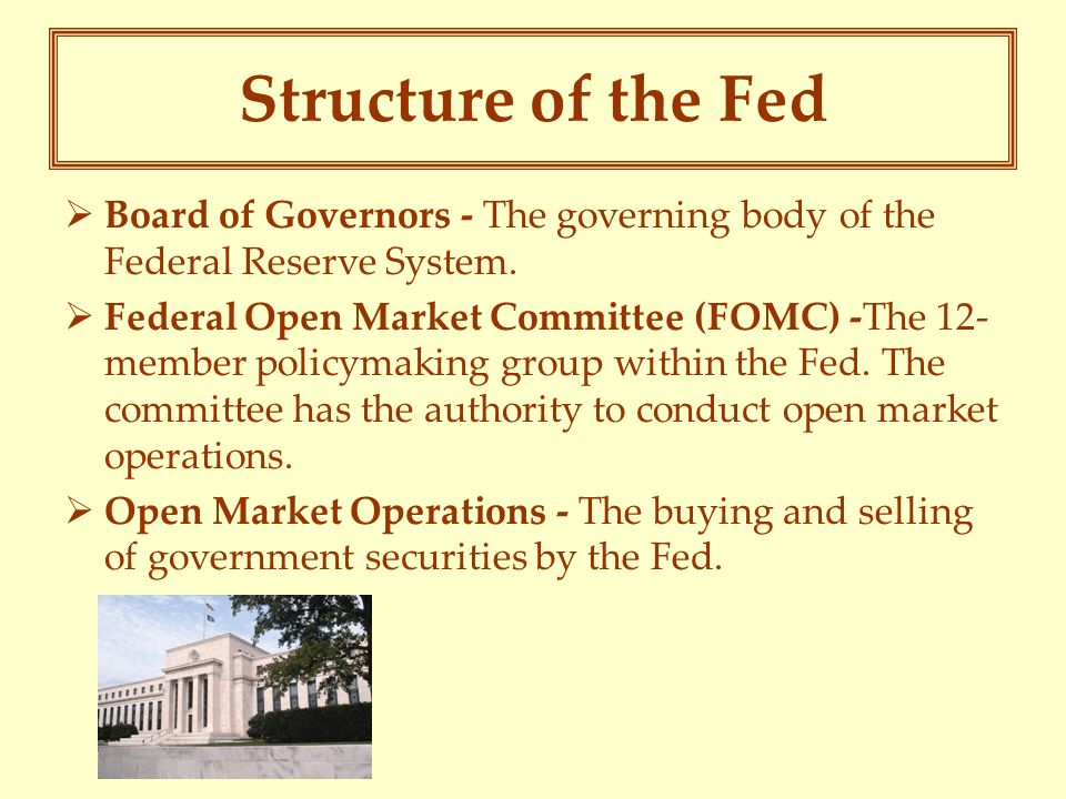 policy making and the federal system The federal reserve system essay 589 words - 3 pages the federal reserve system the federal reserve system is the central bank of the united states it was founded by congress in 1913 to provide the nation with a safer, more flexible, and more stable monetary and financial system.