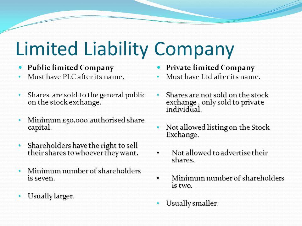 7 Limited Liability Company Advantages