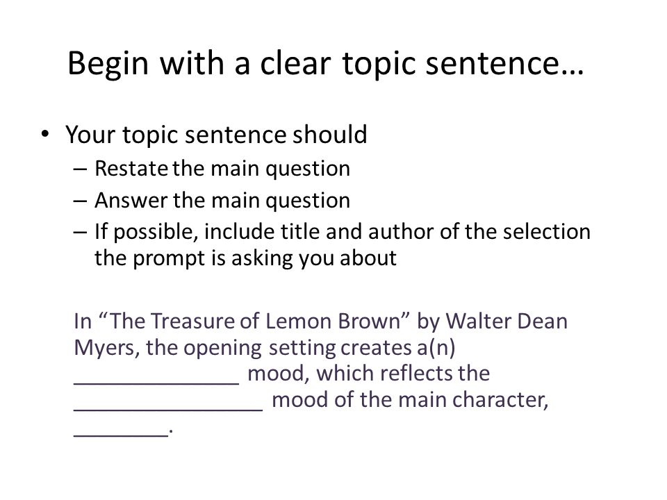 the treasure of lemon brown essay