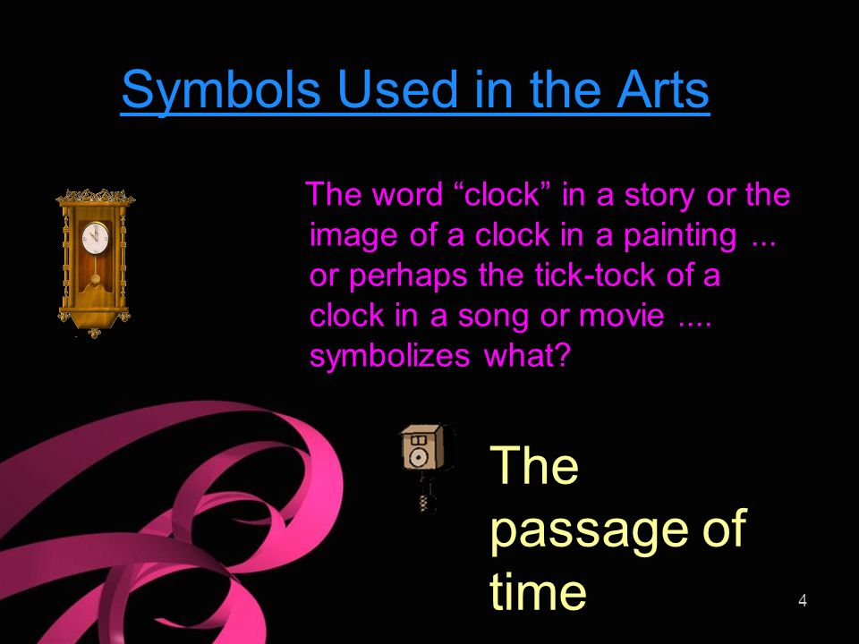 Symbolism In The Arts 1 Symbolism A Symbol Is Something That