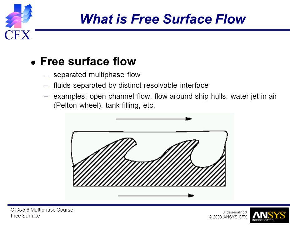 CFX Slide serial no 1 © 2003 ANSYS CFX CFX-5 6 Multiphase