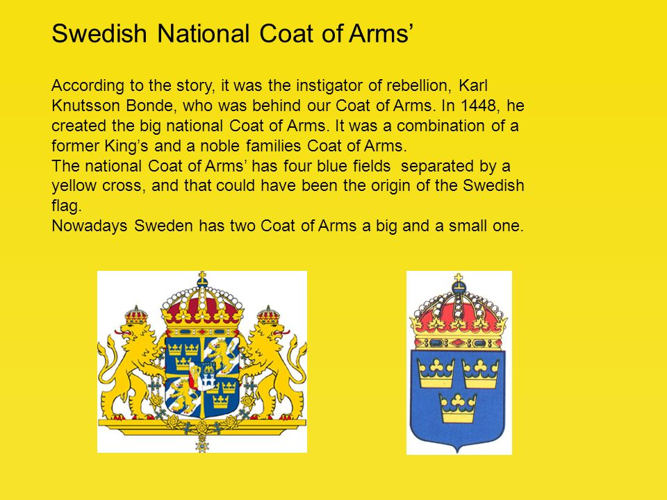 The Swedish Flag The Swedish Flag Is One Of The Oldest National