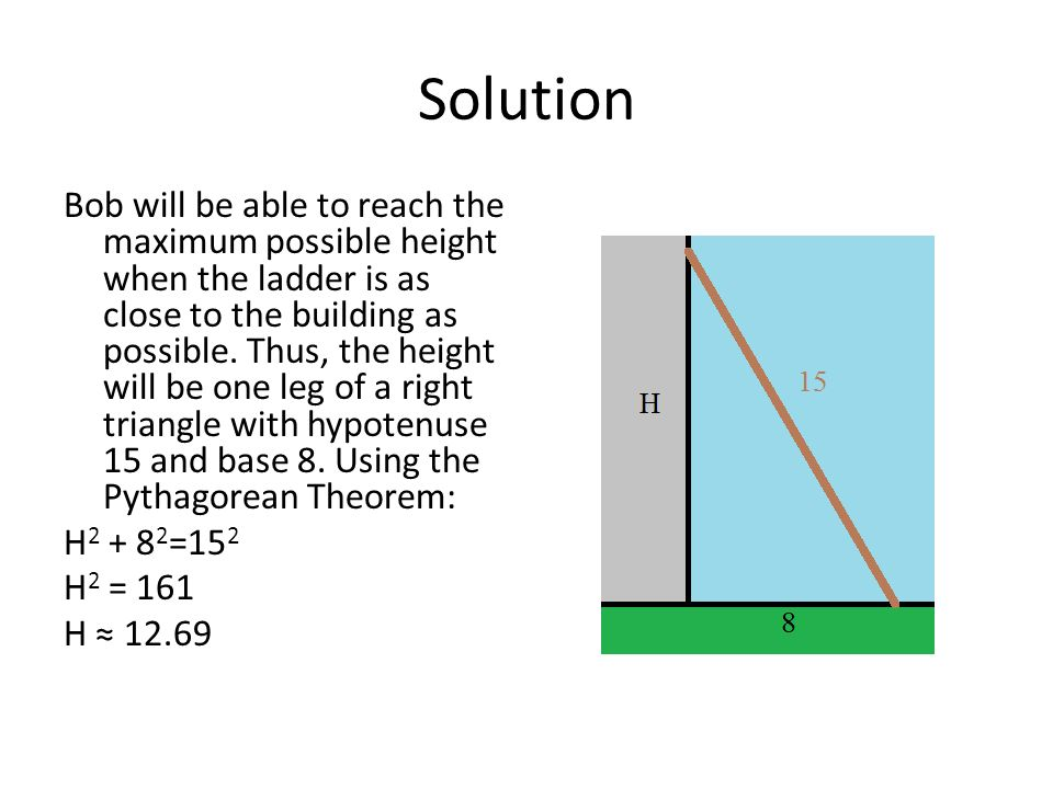 Pythagorean Theorem Practice Problems More Challenging Ppt Download