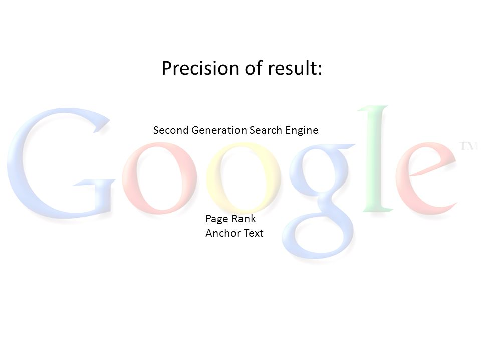 The anatomy of a Large-Scale Hypertextual Web Search Engine. - ppt ...