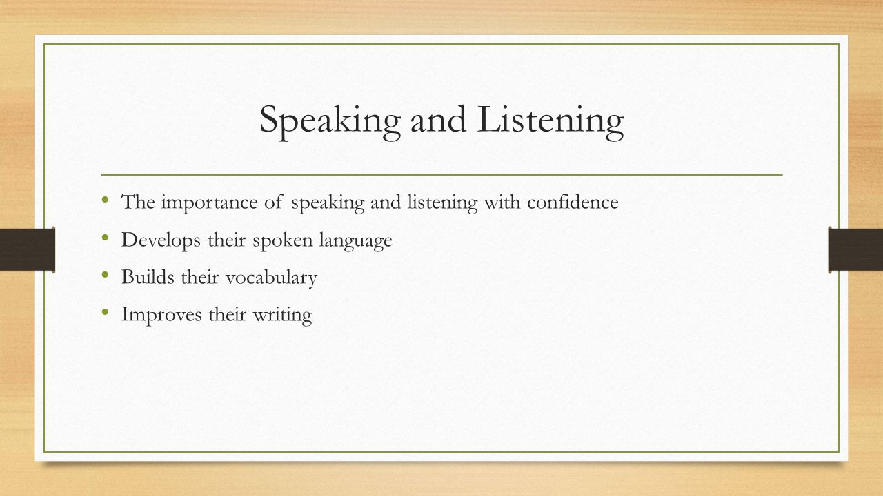 importance of spoken english