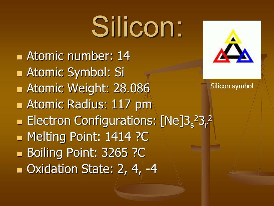 Group 1 Silicon Phosphorus By Tyretel Ianculeah Caluyanya Tokyo