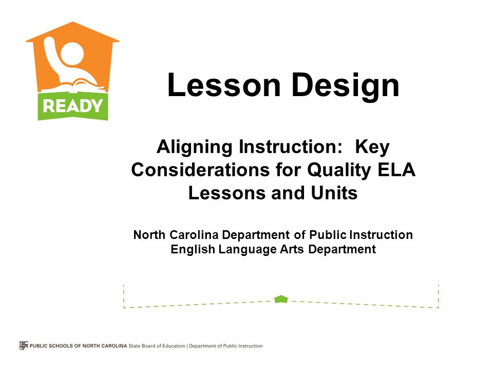 Aligning Instruction Key Considerations For Quality Ela Lessons And