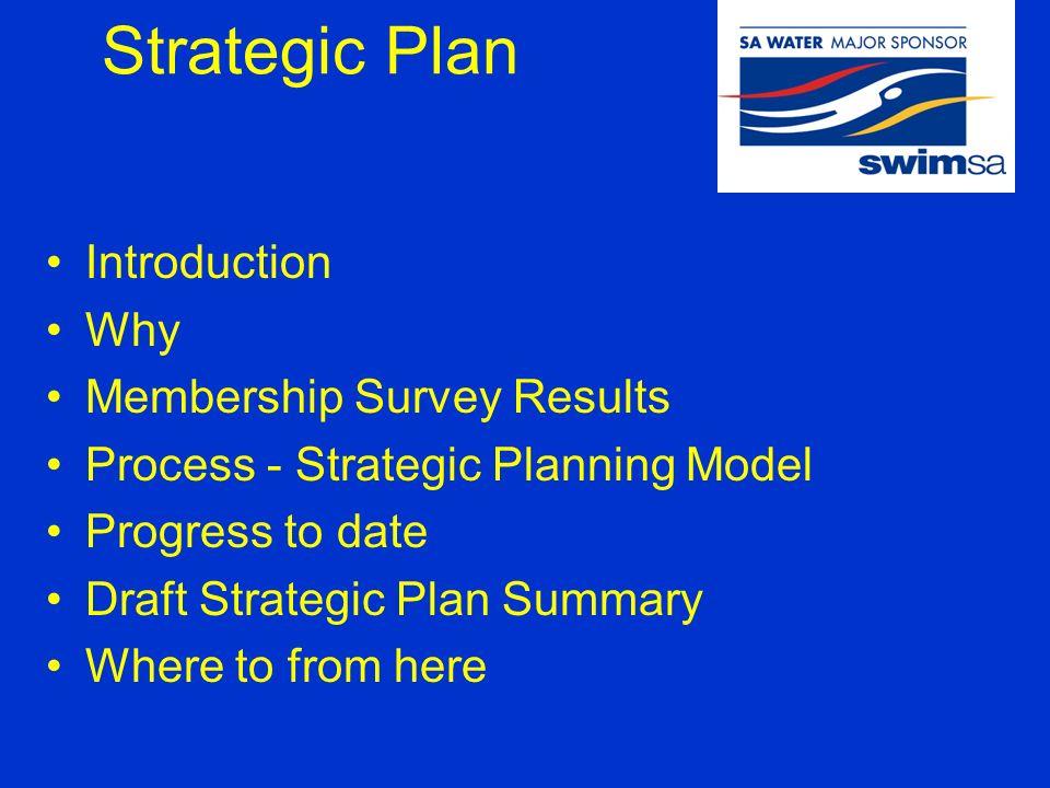 strategic plan presentation to members strategic plan introduction