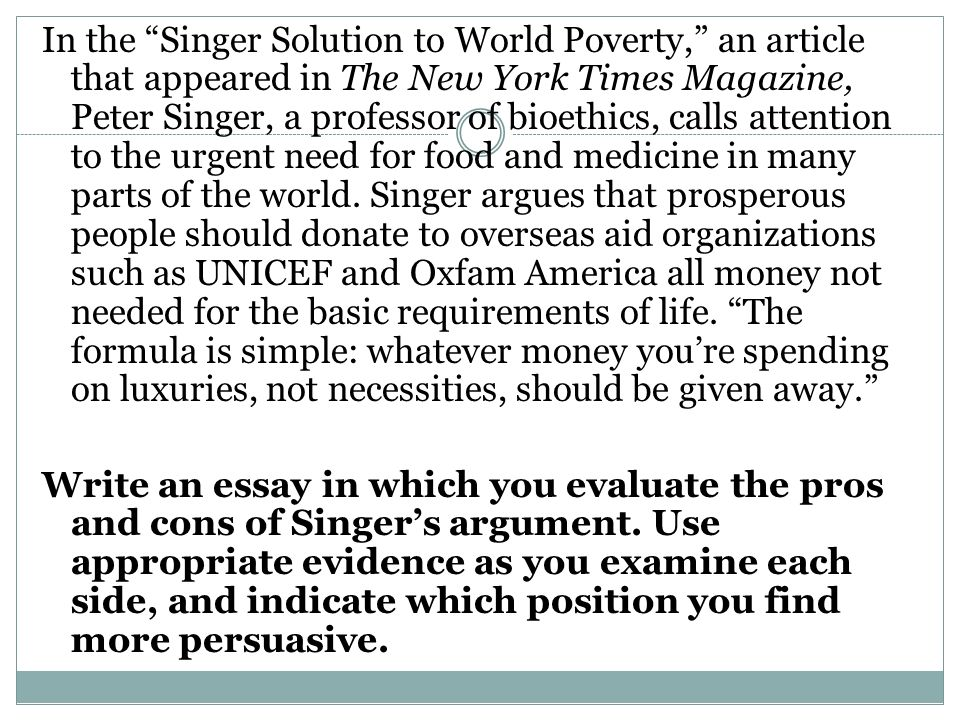 gp essay questions on poverty  advanced writing final essay poverty in egypt mostafa emad 113195 the problem of poverty in the egyptian society according to el laithy h (1998), poverty is defined as a shortage in money that the people cannot afford the basic needs that are food, water, shelter, education and health care.