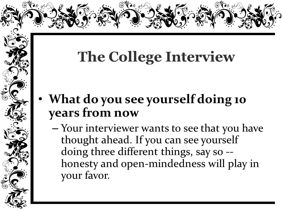 Choosing The Right College 1 Start With Who You Are And Why You