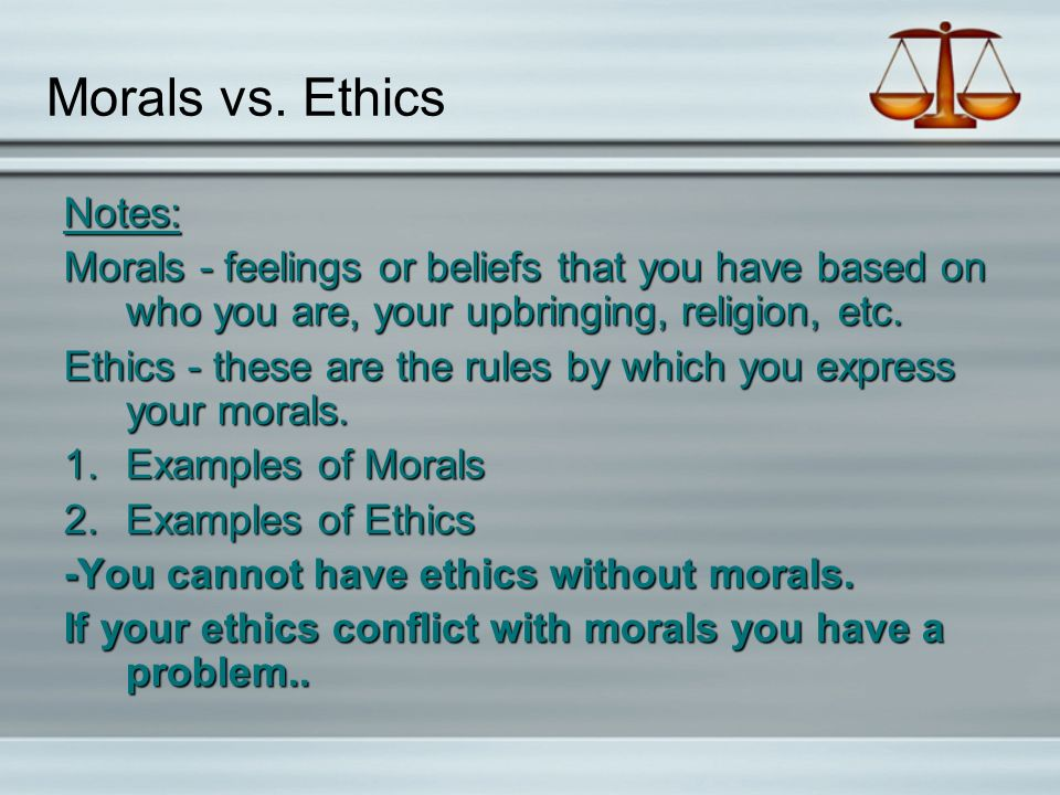 91108 Br What Things Influence The Laws Or Rules A Person Or