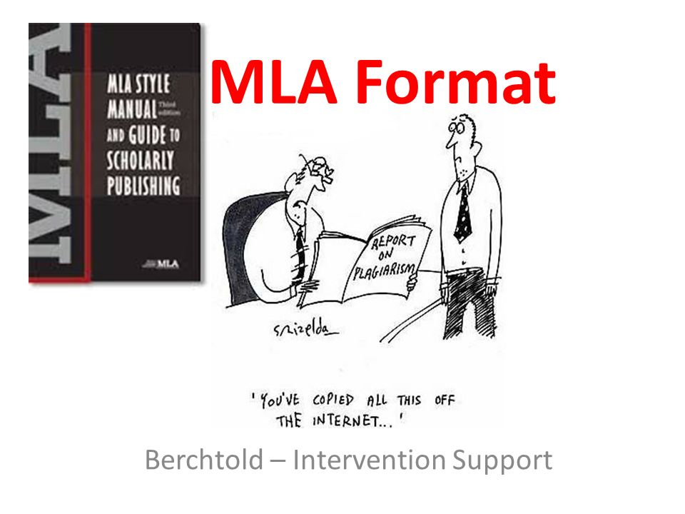 1 mla format berchtold intervention support