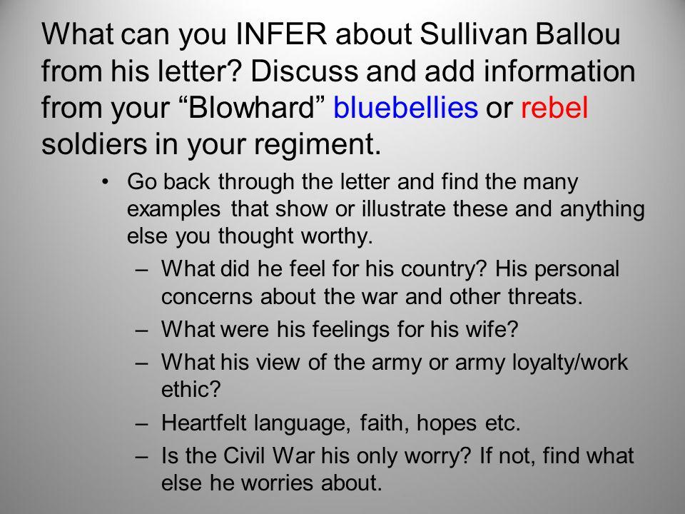 major sullivan ballou letter analysis