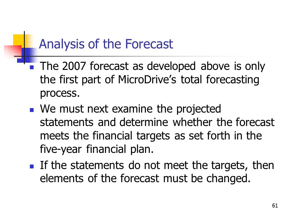 1 CHAPTER 9 Financial Planning and Forecasting Pro Forma