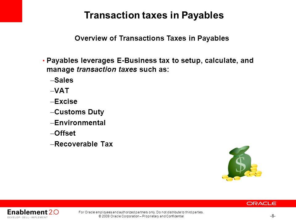Oracle E-Business Suite R12 1 Accounts Payables Partner Boot