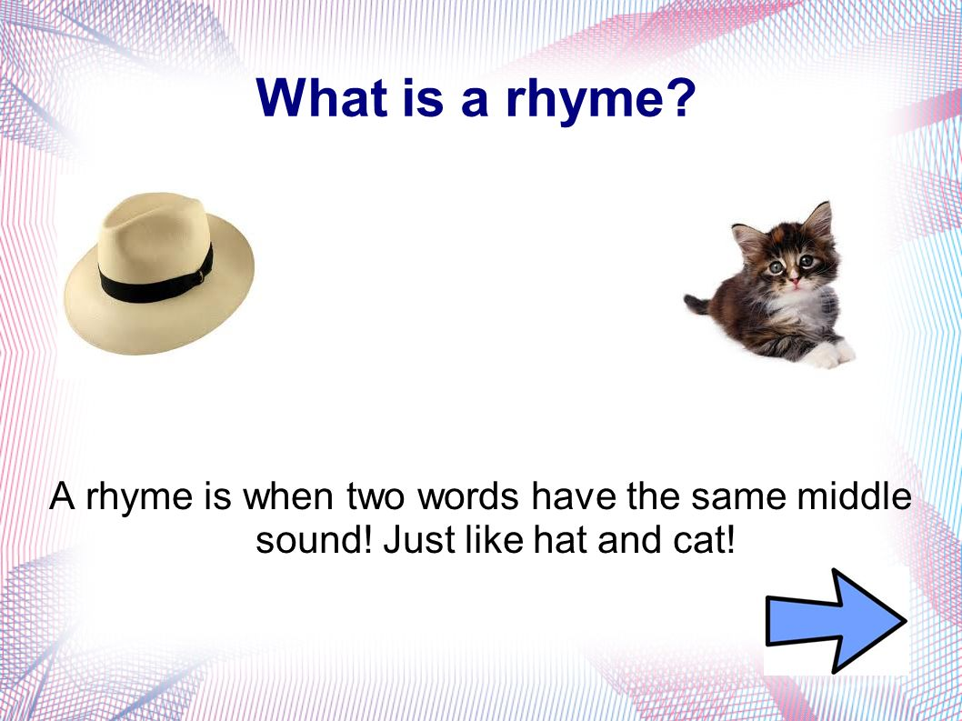 Finish The Rhyme