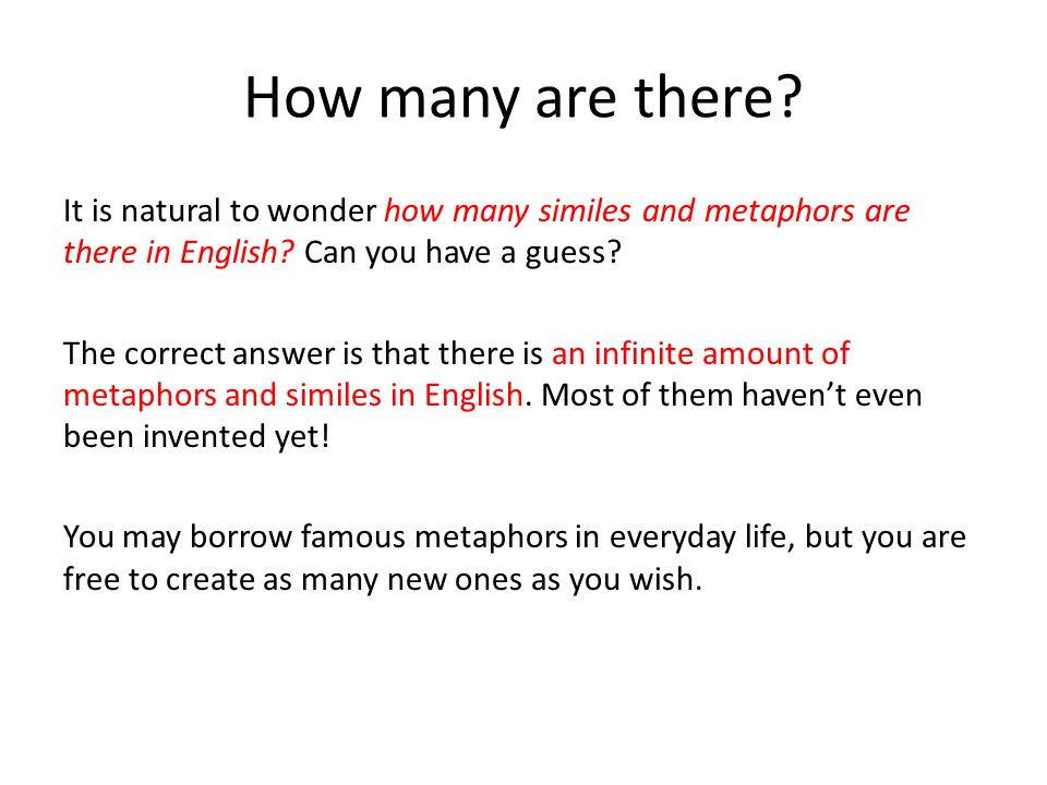 Metaphors Of Everyday Life Many Lives >> Metaphors V Similes Overview And Examples Introduction Both