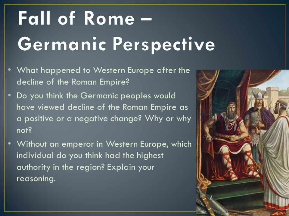 a study of the decline of the roman empire Brilliant though it was, the thesis he expounded in his monumental and highly engaging magnum opus the decline and fall of the roman empire—he argued that the rise of christianity emasculated the native vigor of rome, leaving it open to more virile conquerors, ie barbarians—is a proposition full of holes and inconsistencies, saying in the.
