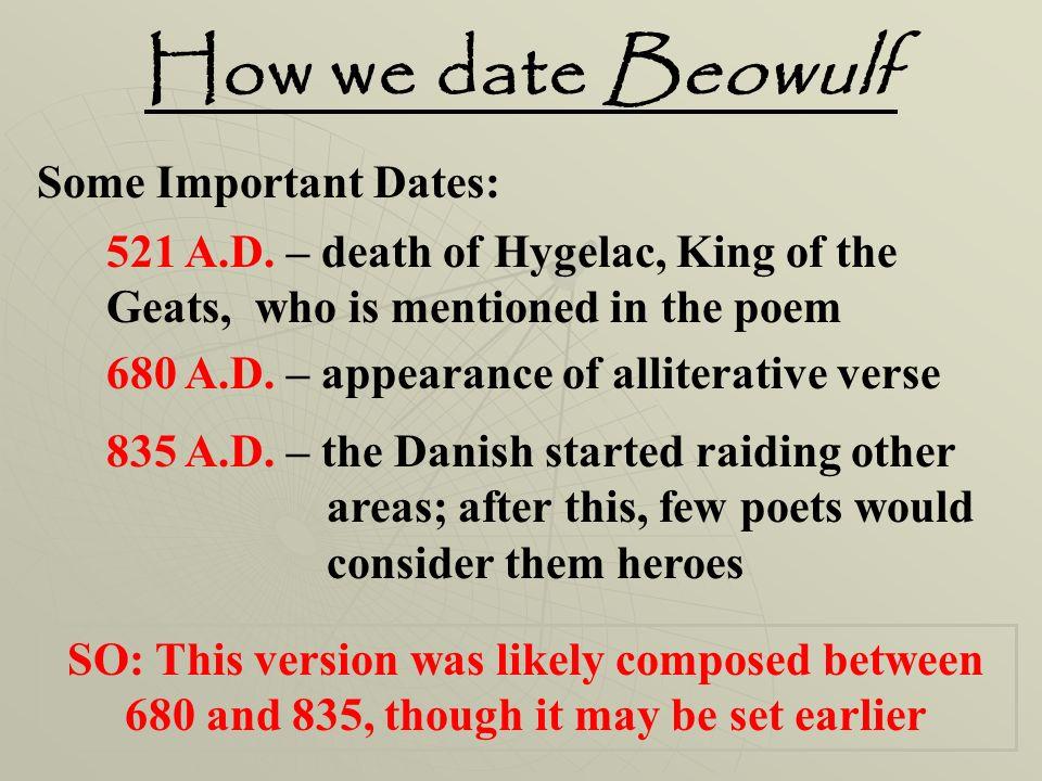 Neidorf dating fra beowulf