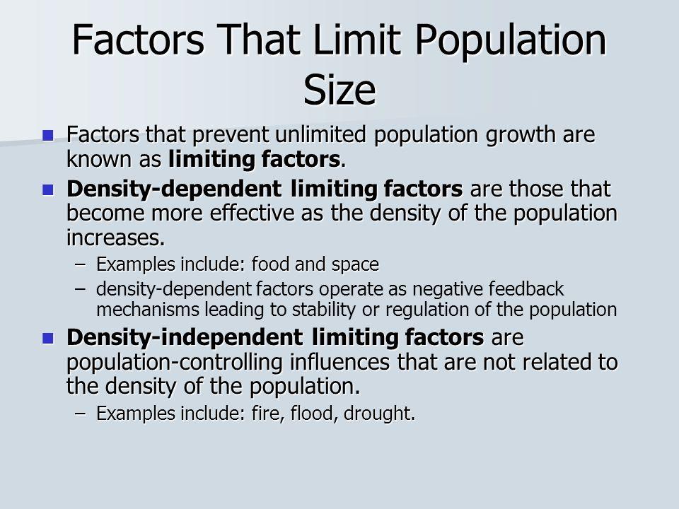 Populations Characteristics And Issues Population Characteristics A