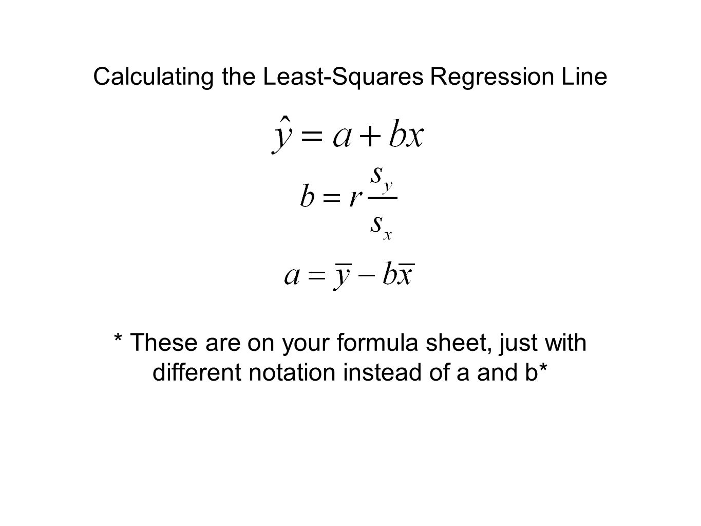 32 Residuals And Least Squares Regression Line Ppt Download