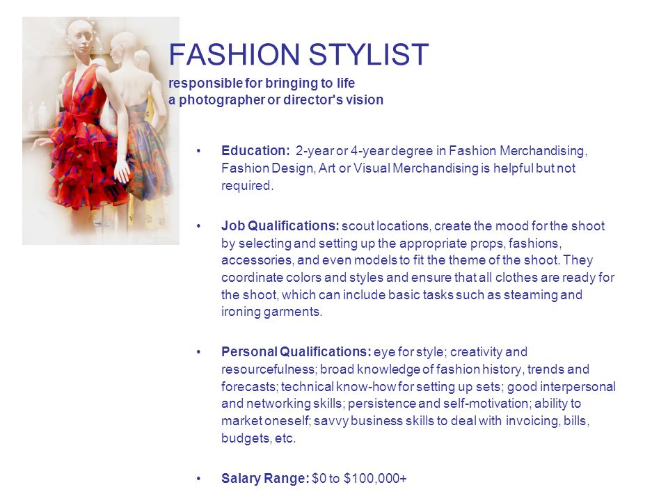 Degree In Fashion Merchandising Salary School Style
