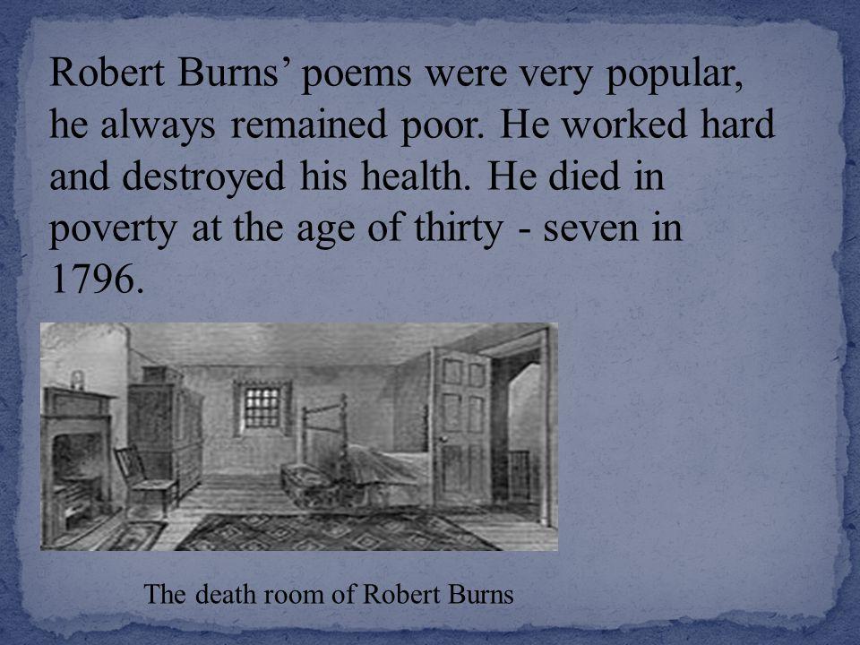 Robert Burns British Scottish Poet Folklorist Author