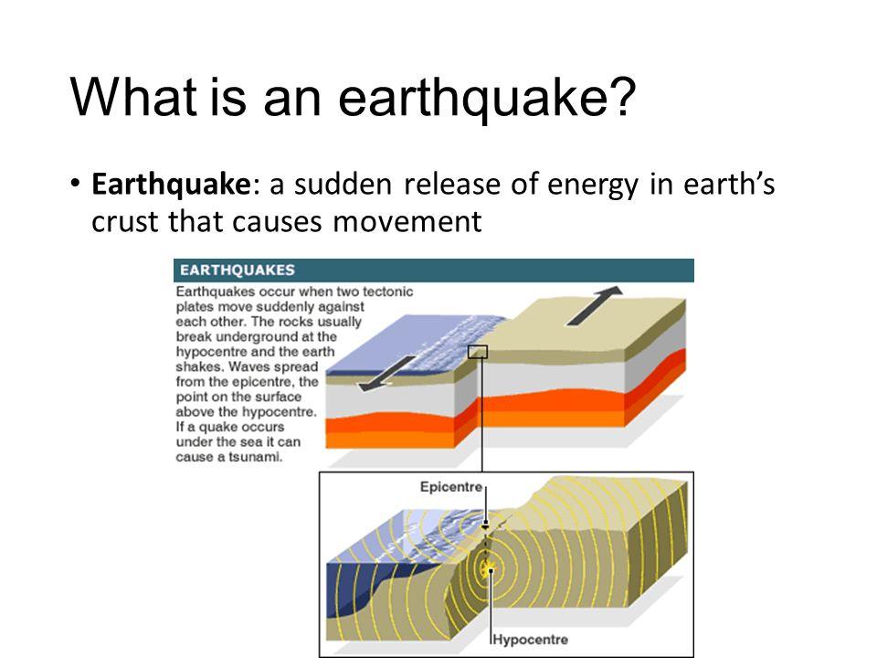 earthquake causes