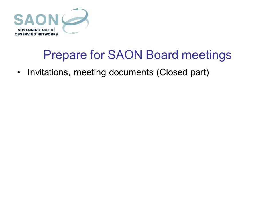 Saon Operational Activities Draft Proposal Jan Rene Larsen Saon