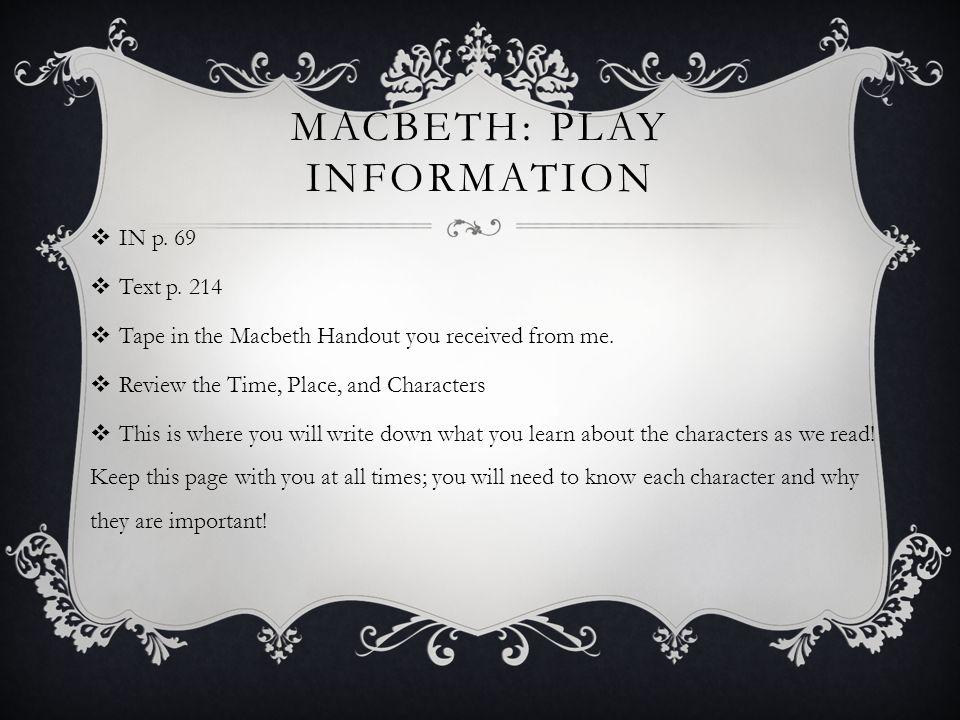 paradox in macbeth