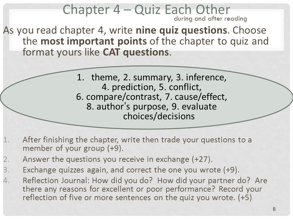 acct 303 quiz 4 chapter 8 Doing good ministries i corinthians quiz on chapters 1 - 4 arlo e moehlenpah 2010 before you attempt to answer the questions below you should read these chapters in the bible and answer the questions at the end of each chapter found at the website wwwdoinggoodorg.