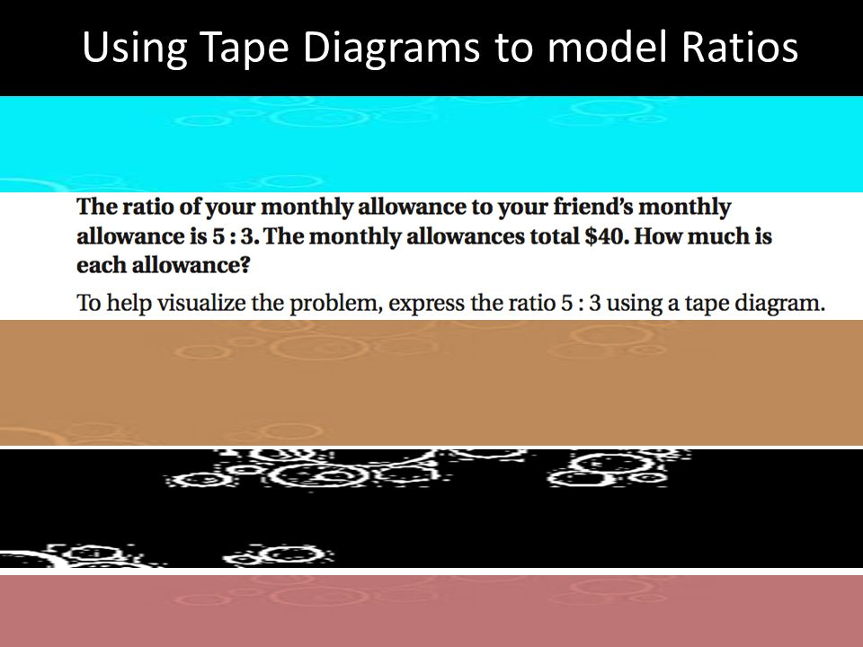 Using tape diagrams to model ratios you friend question 1 white 1 using tape diagrams to model ratios you friend ccuart Choice Image