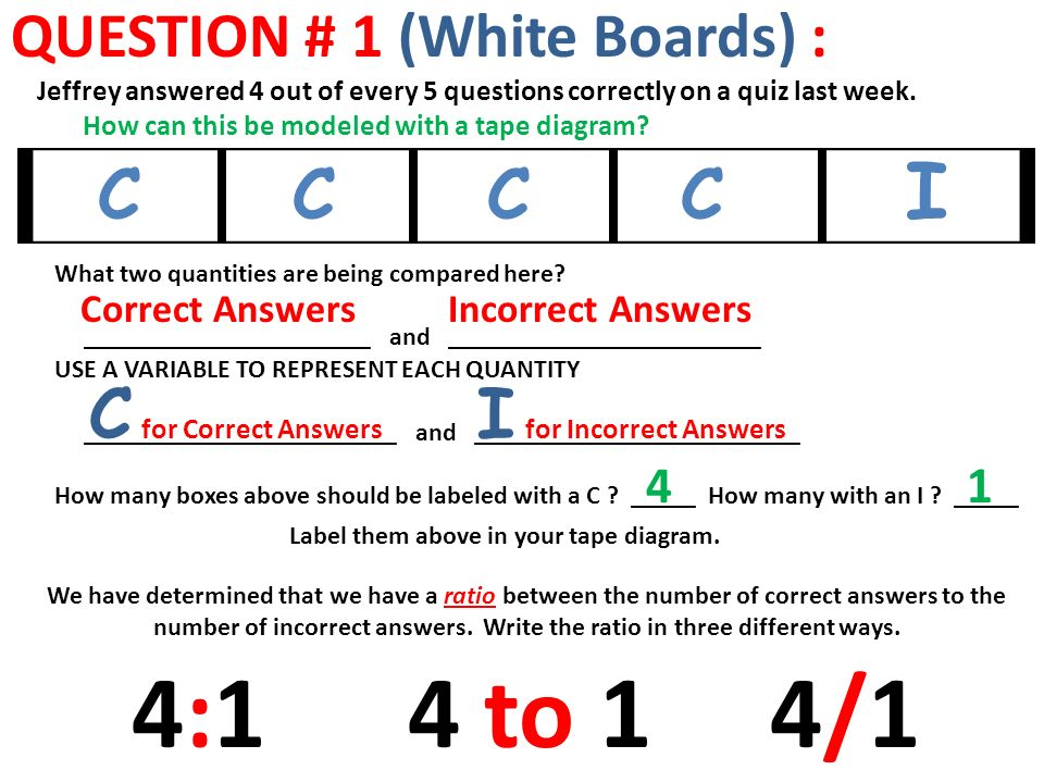 Using tape diagrams to model ratios you friend question 1 white 2 question ccuart Choice Image