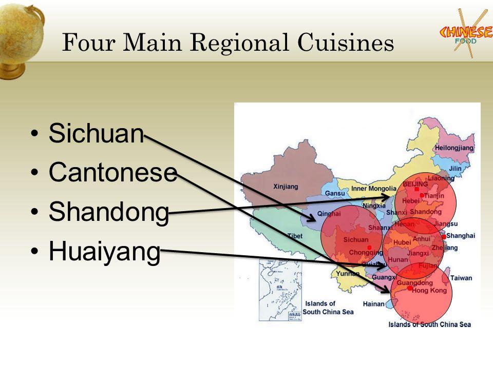 The 4 Main Regional Cuisines Chinese Cuisine Prepared In Bite