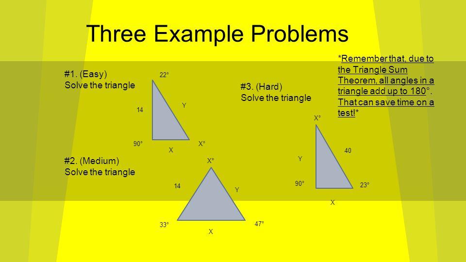 Honors Geometry Unit 7-B review By Narayan Prabhakar and Luke