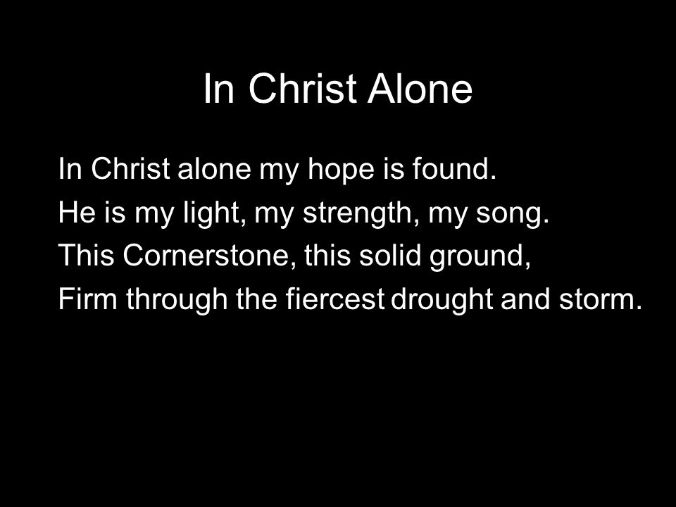 Songs for strength and hope