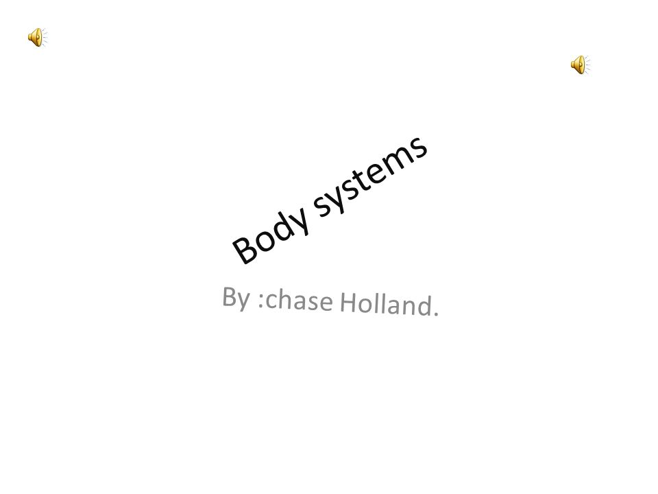 Body systems By :chase Holland. Skeleton system. Your bones join to ...