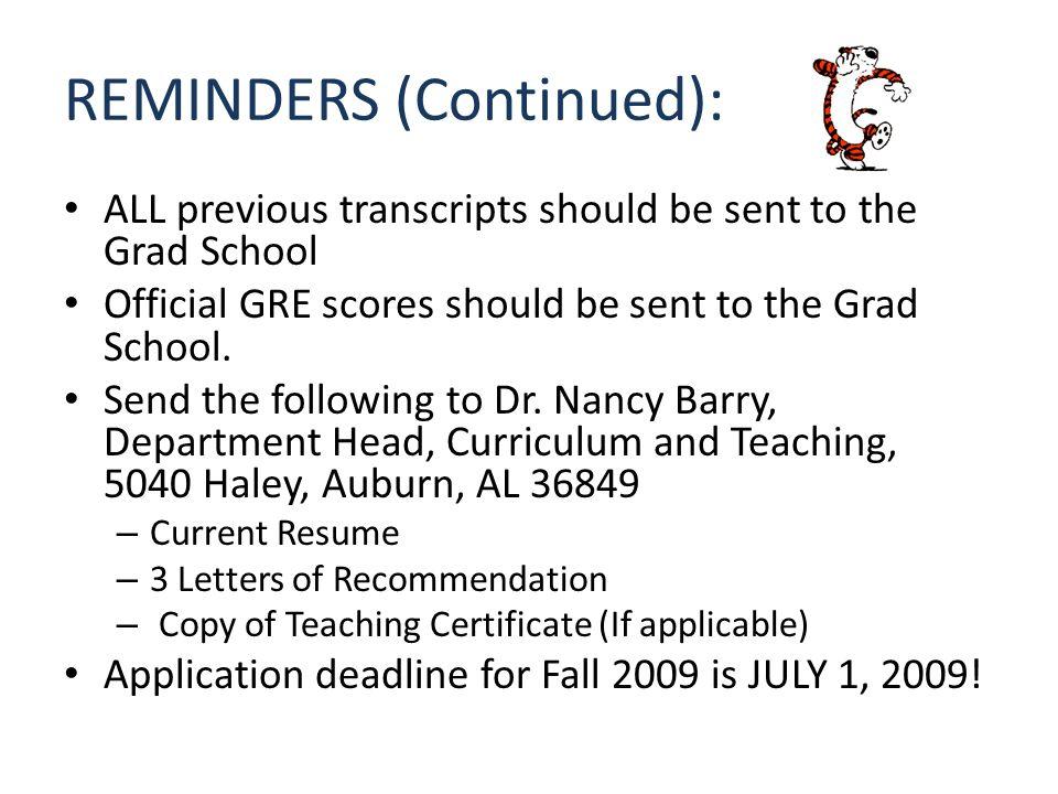 WELCOME TO AUBURN UNIVERSITY Online Graduate Application
