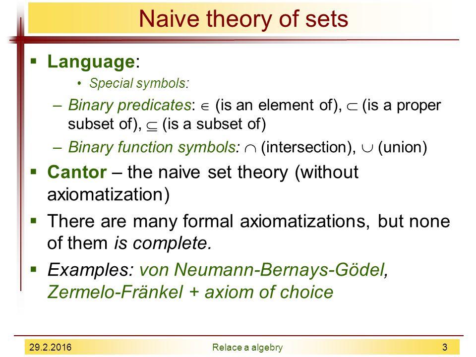 Naive Set Theory Pdf