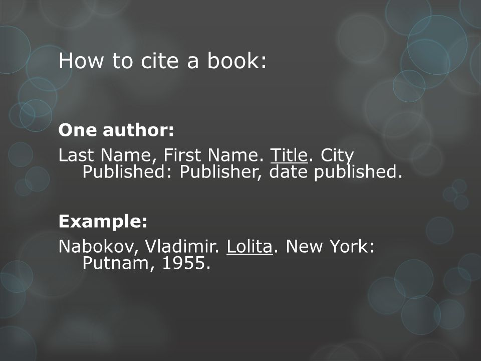 Annotated bibliographies what are they what is an annotated 3 how to cite a book one author ccuart Image collections