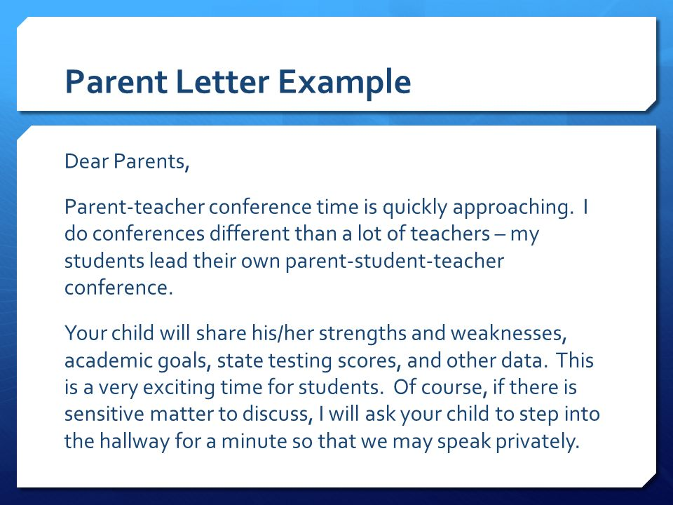 Student-Led Conferences Empower the Student Kari Cox