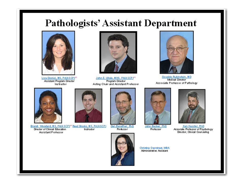 Pathologists' Assistants - ppt video online download