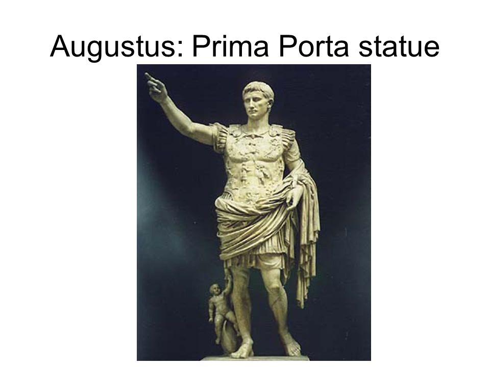 augustus of prima porta statue