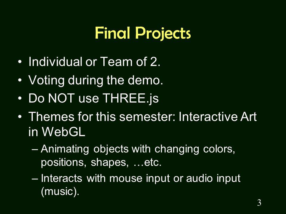 Web Audio API Let your WebGL program dance  Announcement