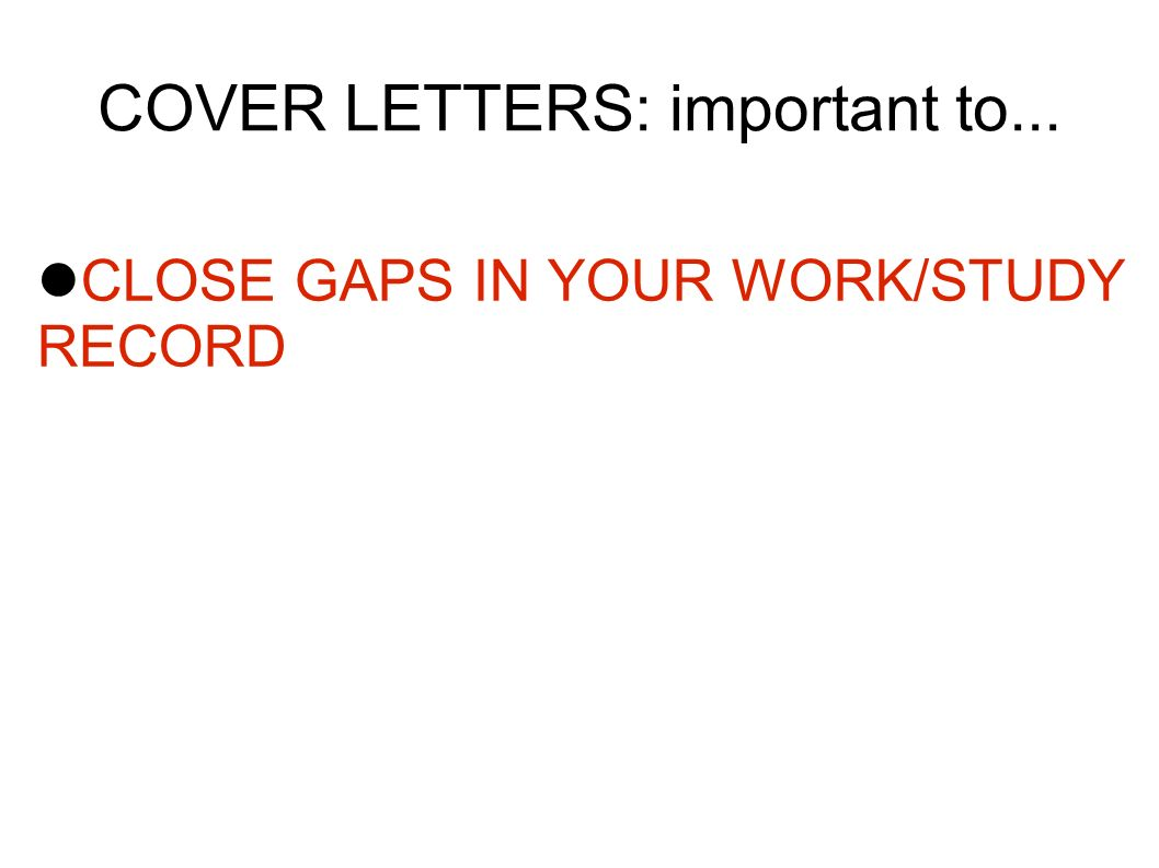 work study cover letter