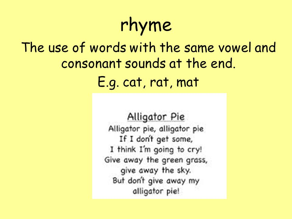 Rhyme With Pussy Willow