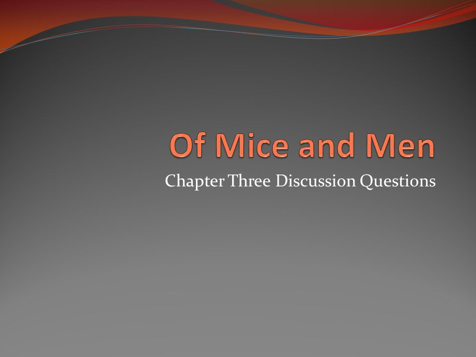 Chapter Three Discussion Questions Instructions According To Your