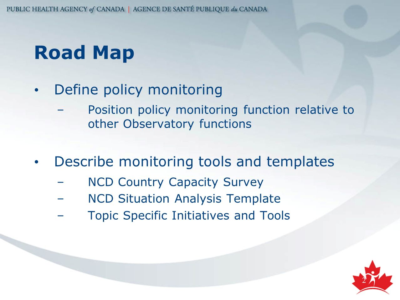 CARMEN Observatory Policy Monitoring Function CARMEN Policy - Map policy template