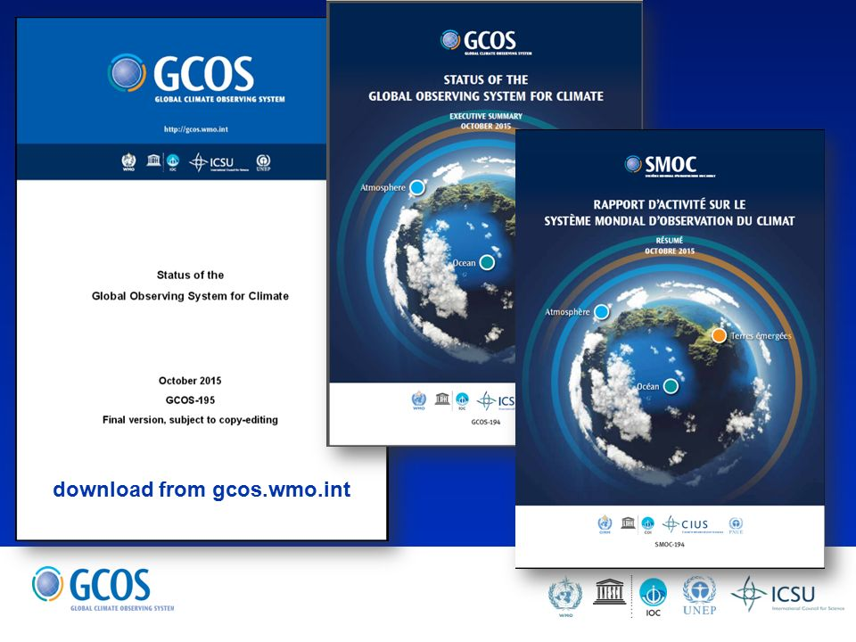 Global climate observing system briefing to icg wigos carolin 2 download from gcoswmo freerunsca Image collections
